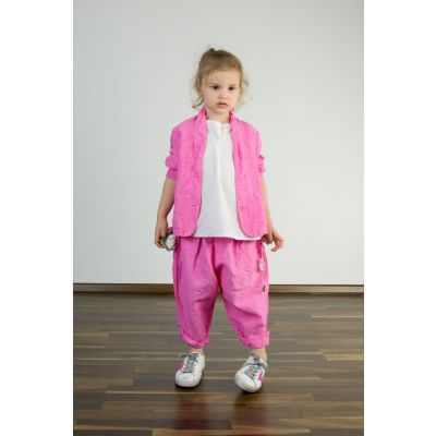 Children Pants Mali Pink Lady by Manuelle Guibal