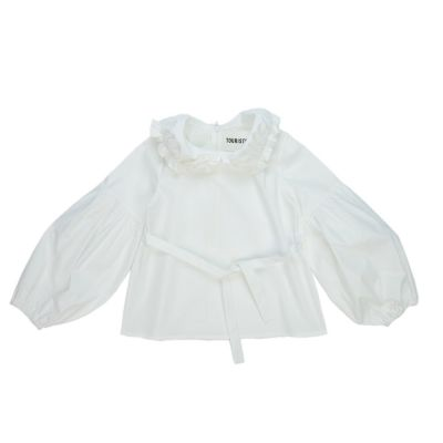 Blouse Microfono White by Touriste