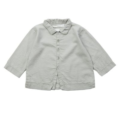 Soft Canvas Baby Shirt Martino Oatmeal by Album di Famiglia-3M