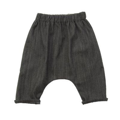 Baby Trousers Piri Mini Herringbone by Anja Schwerbrock