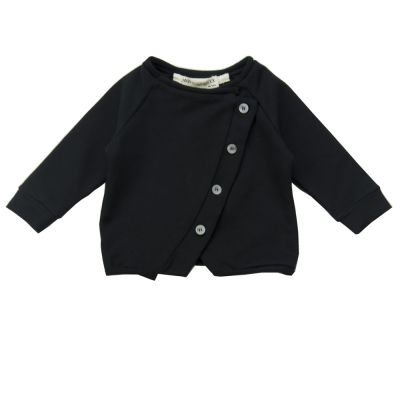 Baby Cardigan Lavoni Black by Anja Schwerbrock