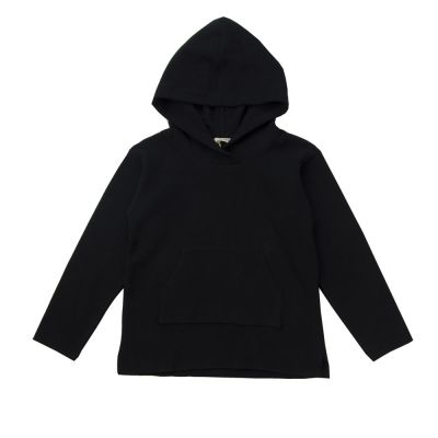 Soft Jersey Hoodie Black by Babe & Tess