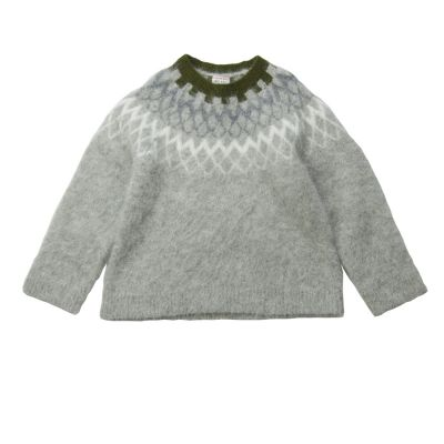 Sweater Mink Fuzzy Mouse-4Y