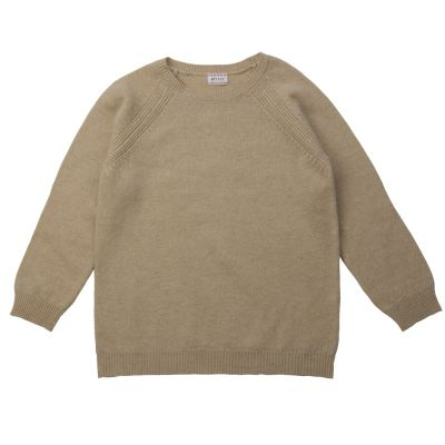 Wool Pullover Mark New England Butter by Morley-4Y