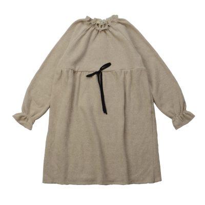 Soft Jersey Mini Dress Natural-3Y