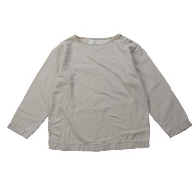 Soft Canvas Shirt Marius Nude by Album di Famiglia-4Y