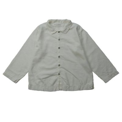 Soft Canvas Shirt Martino Milk by Album di Famiglia