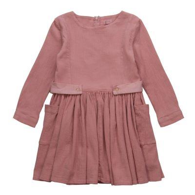 Dress May Rib Rose by Morley-4Y