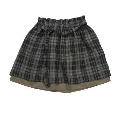 Woolen Skirt Tonia Checked by Anja Schwerbrock