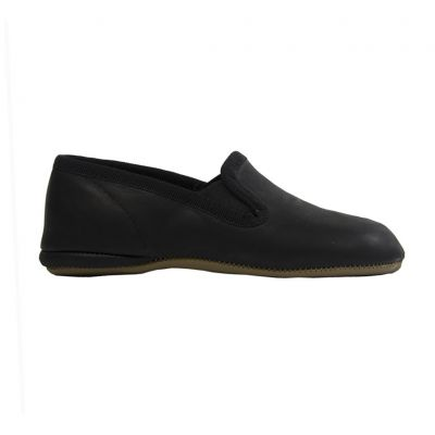 Leather Slippers Irlanda Black by Pepe Children Shoes-23EU