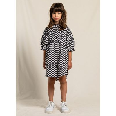 Dress Swing Ash Black/Off-White Check by Finger in the Nose