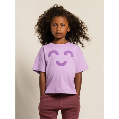T-Shirt Queen Purple Macaroni by Finger in the Nose