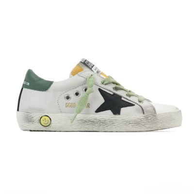 Sneakers Superstar Ice Leather Black Star by Golden Goose Deluxe Brand