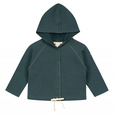 Baby Hoodie Blue Grey by Gray Label-3M
