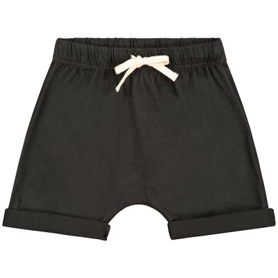 Baby Baggy Shorts Nearly Black by Gray Label-24M