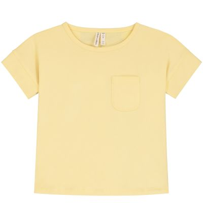 Boxy Tee Mellow Yellow by Gray Label-2Y