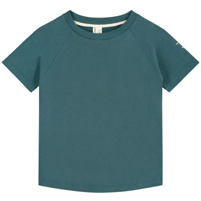 Crewneck Tee Blue Grey by Gray Label