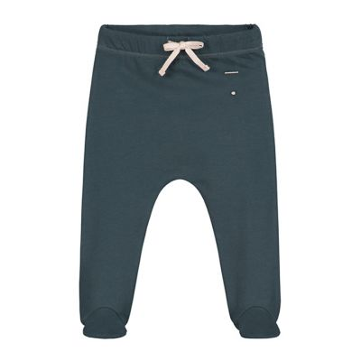 Baby Footies Blue Grey by Gray Label-3M