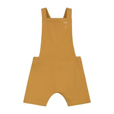 Baby Short Jersey Salopette Mustard by Gray Label