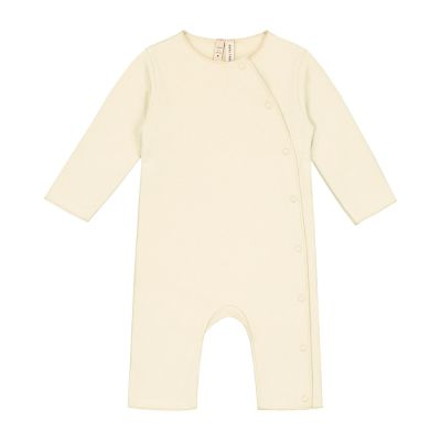Baby Suit with Snaps Cream by Gray Label