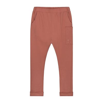 Relaxed Pocket Trousers Faded Red-3Y