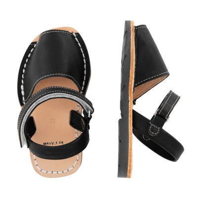 S'Avam x Gray Label - Sandals with Velcro Black