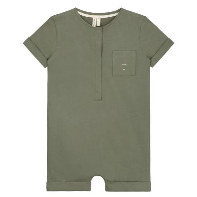 Baby Short Leg Suit Moss by Gray Label-18M