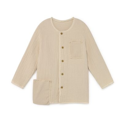 Quilted Jacket Cream by Little Creative Factory