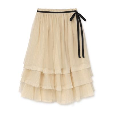 Muslin Fairy Layered Skirt Cream by Little Creative Factory
