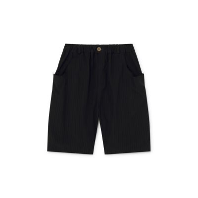 Crushed Cotton Shorts Black by Little Creative Factory