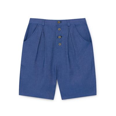 Soft Denim Shorts Blue by Little Creative Factory