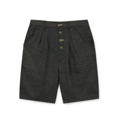 Soft Denim Shorts Slate by Little Creative Factory