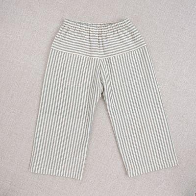 Trousers Eole Teal Striped by Ketiketa