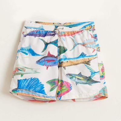 Swimwear Lazo Fish Print by Bellerose-4Y
