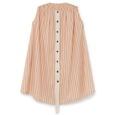 Carrousel Sundress Orange Stripes by Little Creative Factory-4Y