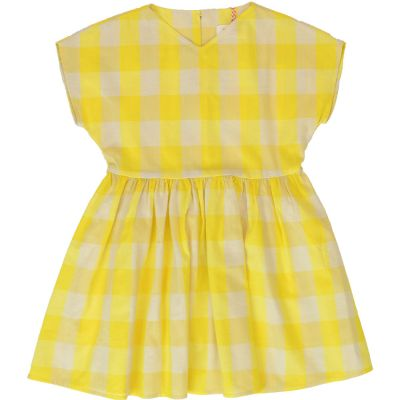 Dress Lobela Yellow Check by Maan-4Y