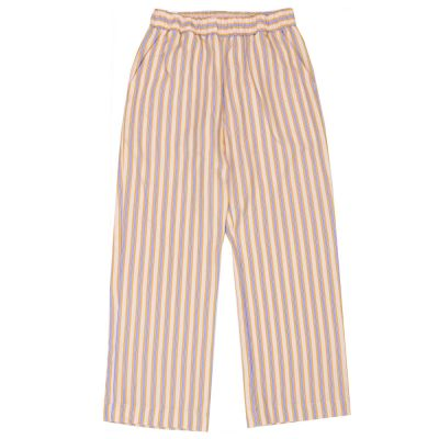 Trousers Sprouts Honey Blue Striped by Maan-4Y