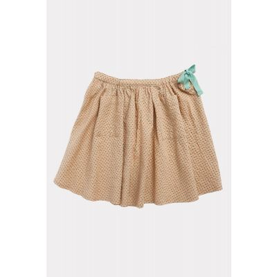Skirt Norton Green Polka Dot-4Y