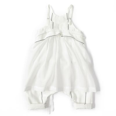 Baby Overall Oda White Stripes-3M