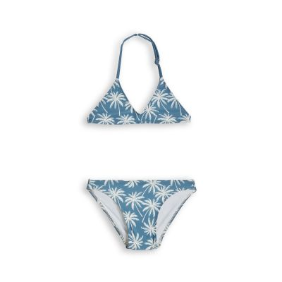 Bikino Pameletto Stone Blue Palms by Finger in the Nose