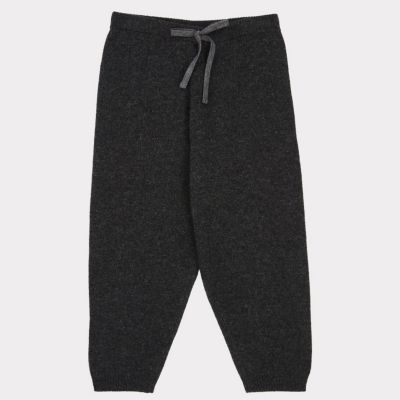 Wool Trousers Parakeet Charcoal by Caramel