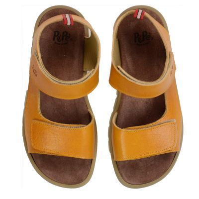 Condor Sandals with Velcro Closure Caramel by Pepe Children Shoes