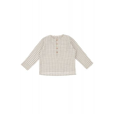 Baby Shirt Pimlico Black Cream by Caramel