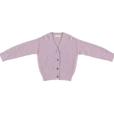Woolen Cardigan Pontis Lilac-4Y