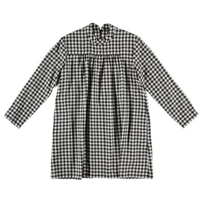 Dress Schnabel Black White Check by Maan