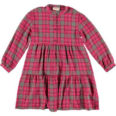 Dress Shiele Cherry Check-4Y