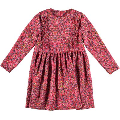 Dress Stella Scarlet with Flower Print by Maan-4Y