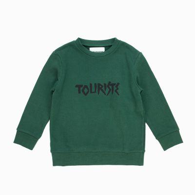 Sweatshirt Cannone Green by Touriste-3Y