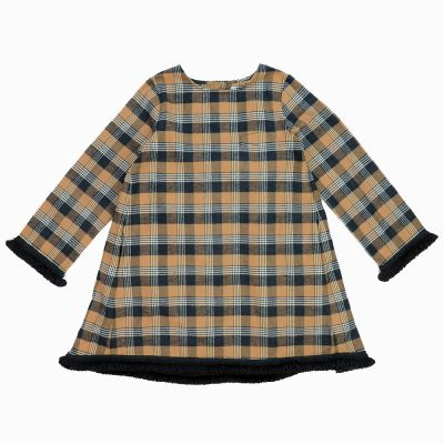 Dress Magia Brown Anthracite Check-3Y