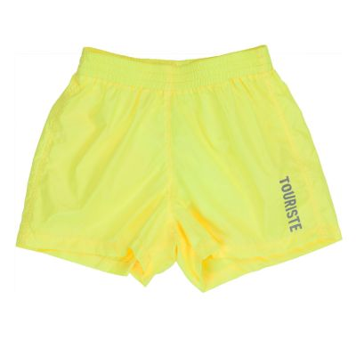 Swimming Trunks Leaf Yellow by Touriste